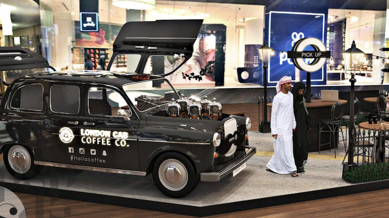 BLK Cab Coffee offers a relaxed, stylish space